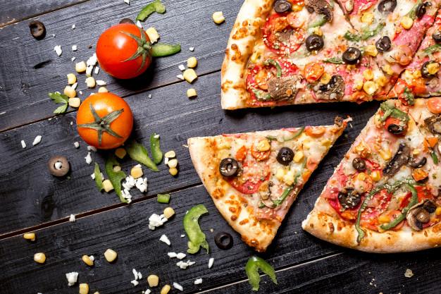 Pizza con base de verduras